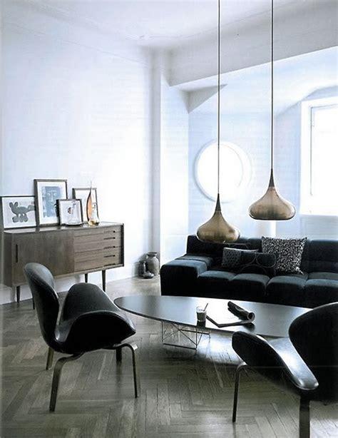 living room hanging lights mid century modern style
