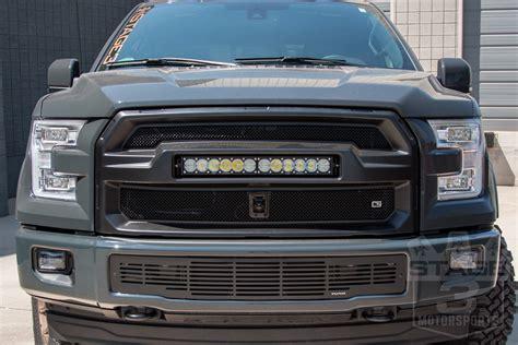 2015 f150 light bar 2015 2017 f150 caliber9 upper light bar grille 08fr1515