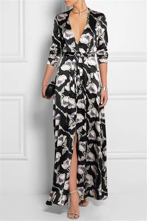 ideas  silk maxi dresses  pinterest long