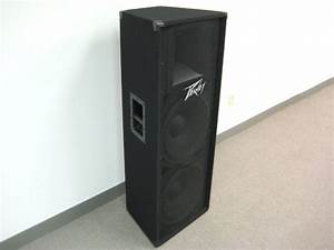 Peavey Pv 215 Dual 15 U0026quot  2 Way Passive Full Range Speaker 1400 Watts Peak