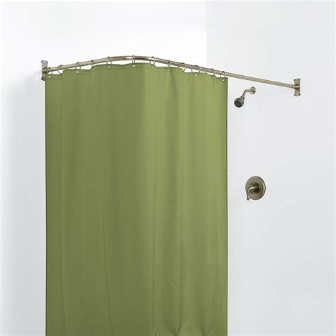 Installing Shower Curtain Tension Rod — The Homy Design