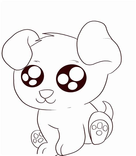 Cute Puppy Colouring Pages High Quality Coloring Pages