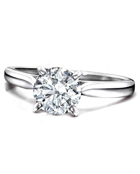 what does your engagement ring say about you martha stewart weddings