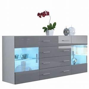 Kommode Grau Hochglanz : sideboard kommode bari v2 in wei grau hochglanz 0 m bel24 shop xxxl ~ Markanthonyermac.com Haus und Dekorationen