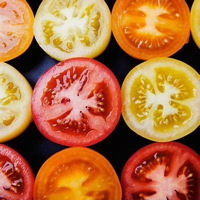 tomatoes  carbohydrate foods fruits  vegetables