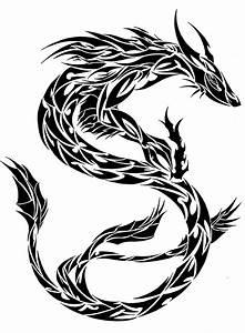Tribal Oriental Dragon by L4TIN-G3CKO on DeviantArt