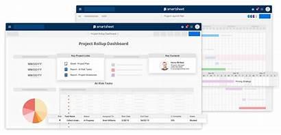 Project Smartsheet Management Cost Plan Excel Template