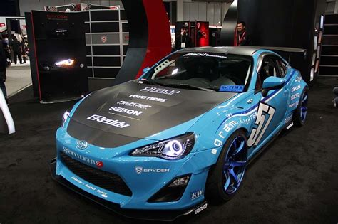 Toyota 86 Modification by Modified Scion Fr S Toyota 86 By Spyder At Sema Show 1