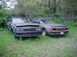 2 1986 Monte Carlo Ss Parts Car Projects Nice Body No Motors No Trans