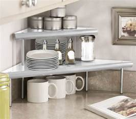 kitchen corner shelves ideas marimac 2 tier kitchen counter corner shelf in satin silver beyond the rack 21 99 home