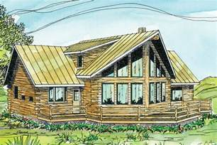 Beautiful Modified A Frame House by Log Cabin Floor Plans Log House Plans Log Home Plans