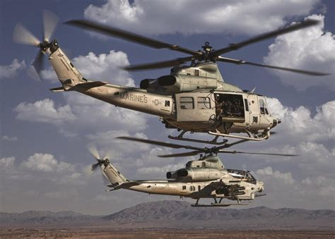 Bell Textron Awarded 272 Million For Czechs Uh 1y And Ah