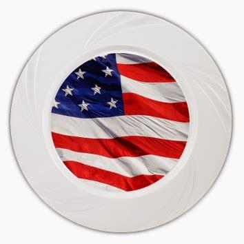 america plates  memorial day disposable plastic goods