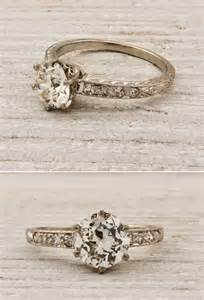 unique engagement rings vintage finds vintage engagement rings and wedding bands onewed