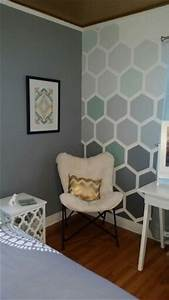 Best 25 grey office ideas on pinterest office room for Amazing options for accent wall ideas