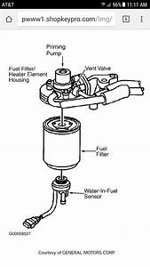 2005 Duramax Fuel Filter Diagram