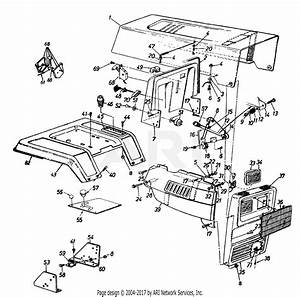 Mtd 14as84ah062  1997  Parts Diagram For Dash  Throttle