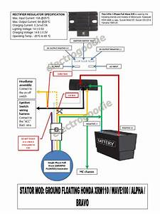 Honda Wave 100 Alpha Wiring Diagram