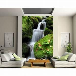Papier Peint Geant : papier peint g ant chutes art d co stickers ~ Premium-room.com Idées de Décoration