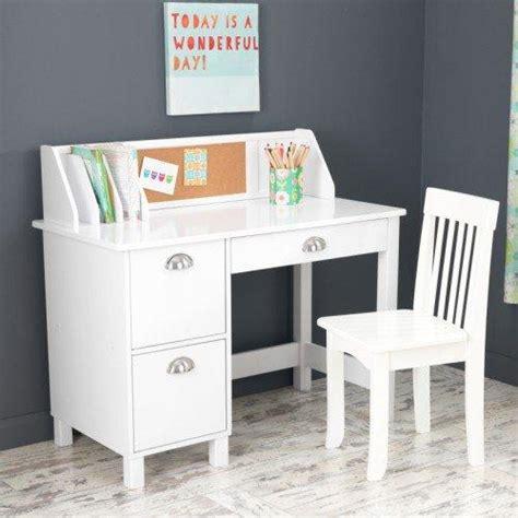 Amazon Kidkraft Kids Study Desk With Chairwhite