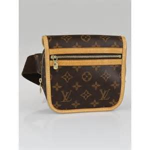 louis vuitton monogram canvas bosphore bum bag yoogis