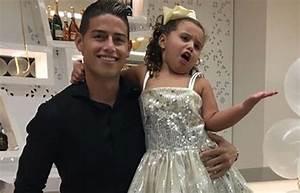 James Rodríguez: El show de celos de su hija Salomé ...