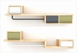 Ou trouver des solutions deco pour petite entree joli place for Porte d entrée alu avec etagere murale salle de bain design
