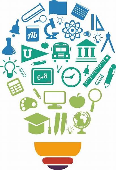Technology Education Clipart Livelihood Educational Student Lightbulb