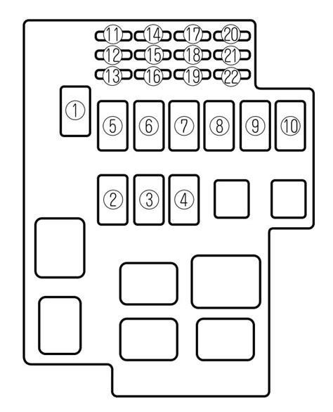 Mazda Millenia Fuse Box Diagram Auto Genius