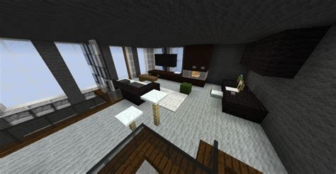 modern penthouse interior contest minecraft project