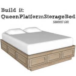 queen size storage bed plans dog breeds picture