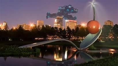 Desktop Minneapolis Backgrounds Spoon Minnesota 1337 Skyline