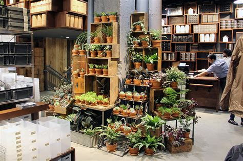 plant store muji fifth avenue opens in nyc cool hunting