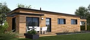 le bardage identite design de votre maison With entree de maison design 6 maison ossature bois plain pied