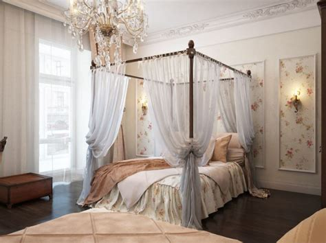 Canopy Bed Drapes by Canopy Beds 40 Stunning Bedrooms