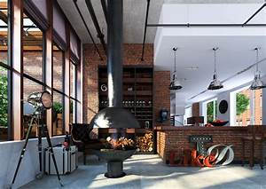 Loft, Living, Room, Decorating, Ideas, For, Men, And, Woman