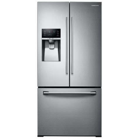 side by side refrigerator reviews shop samsung 25 5 cu ft door refrigerator with