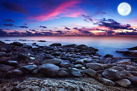 carre cuisine tableau paysage mer d ecosse izoa