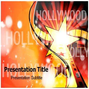 Pretty Hollywood Powerpoint Template Images Gallery Hollywood
