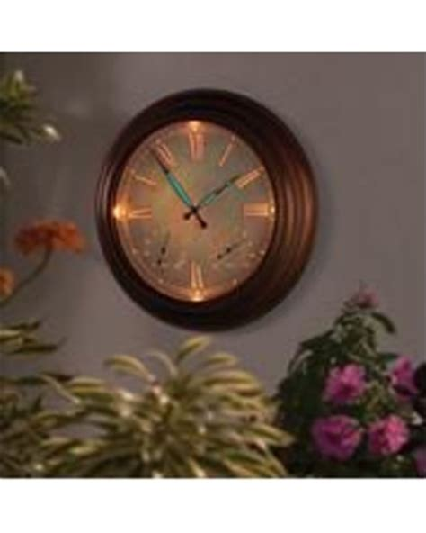 savings on the 24 quot outdoor lighted atomic clock