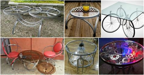bicycle coffee table designs   instructions