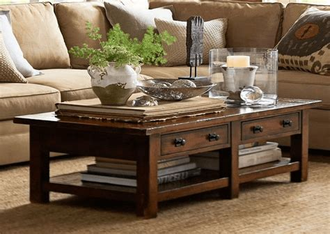 how to decorate a coffee table how to decorate a rustic coffee table based on theme