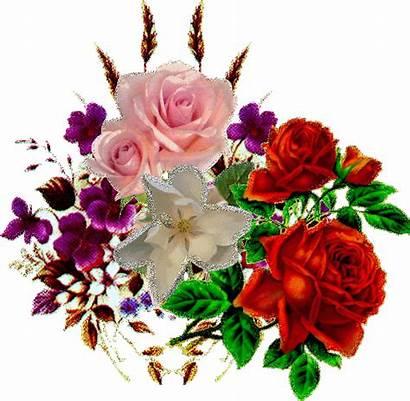 Flores Animadas Brillos Imagenes Rosas Gifs Ramos