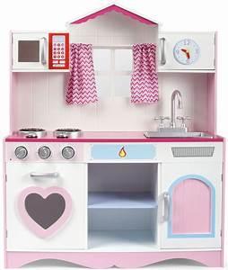 Dreirad Für Große Kinder : gro e holzk che f r kinder pink play ~ Kayakingforconservation.com Haus und Dekorationen