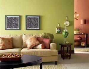 Wohnzimmer Ideen Grün : 5 wandfarben ideen der fr hling bringen sie das leben im ~ Lizthompson.info Haus und Dekorationen