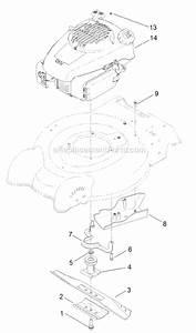 Lawn Boy 10604 Parts List And Diagram