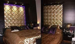 Tete De Lit Design : t te de lit fabriquer une t te de lit 3d wallart ~ Teatrodelosmanantiales.com Idées de Décoration