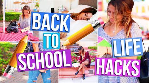back to school hacks to back to school hacks studying tips tara