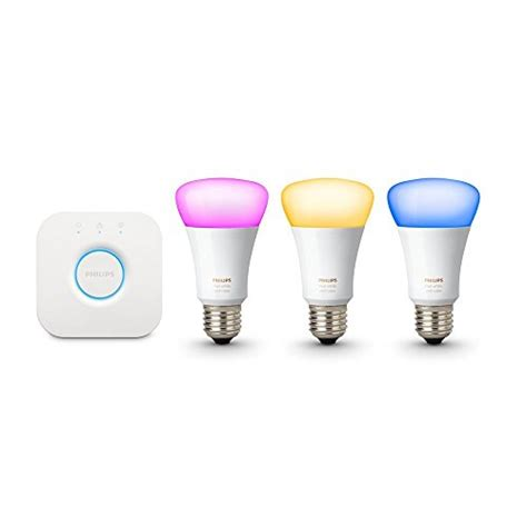 philips hue white and color ambiance smart bulb starter