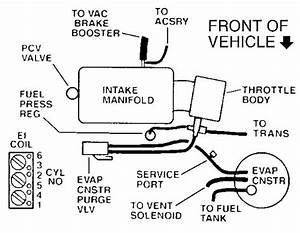 1997 Olds 88 Vacuum Diagram